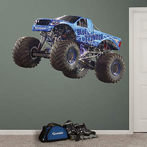Blue Thunder Fathead Wall Decal